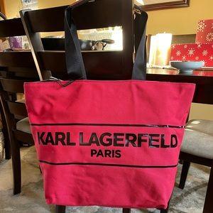 Karl Lagerfeld Large Tote
